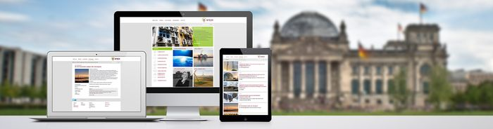 Arepo Consult in Berlin mit neuer Homepage